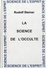 Science de l'occulte ear - Couverture - Format classique