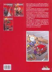 Les pompiers T.3 ; le feu de l'amour - 4ème de couverture - Format classique
