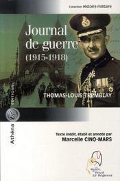 Journal de guerre, 1915-1918 - Intérieur - Format classique
