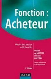 Fonction : acheteur (2e édition) - Couverture - Format classique