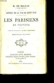 Les parisiens en province. L'illustre Gaudissart - La muse du département - Couverture - Format classique