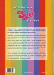 L'odyssée de la soul et du R&B - 4ème de couverture - Format classique