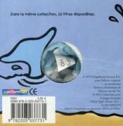 Augustin le dauphin - 4ème de couverture - Format classique