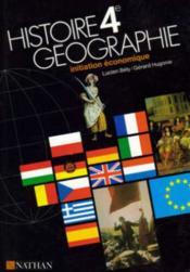 Hist Geo Init.Eco El. 4e - Couverture - Format classique