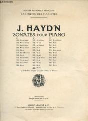 SONATES POUR PIANO. 23e SONATE. - Couverture - Format classique