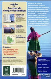 Bolivie (6e édition) - 4ème de couverture - Format classique