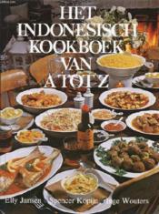 Het Indonesisch Kookboek Van A Tot Z - Couverture - Format classique