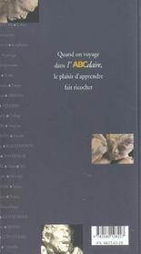 L'abcdaire de Rodin - 4ème de couverture - Format classique