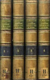 L'Histoire Romaine A Rome, 4 Tomes (Complet) - Couverture - Format classique