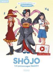 Shojo ; les personnages féminins - Couverture - Format classique