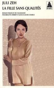 La fille sans qualités - Couverture - Format classique