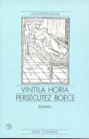 Persecutez boece - Couverture - Format classique
