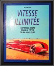 Vitesse illimitee - Couverture - Format classique