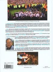 Une Saison De Football 2002 - 4ème de couverture - Format classique