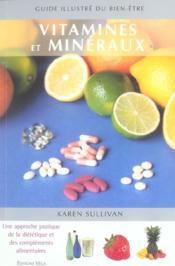 Vitamines et mineraux - Couverture - Format classique