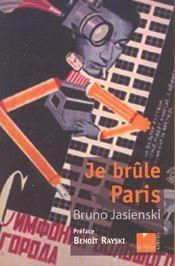 Je brule paris - Intérieur - Format classique