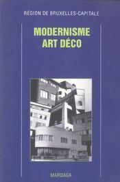 Modernisme art deco ; region de bruxelles-capitale - Intérieur - Format classique