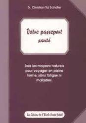 Passeport sante (votre) - Couverture - Format classique