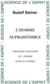 Homme Suprasensible - Couverture - Format classique