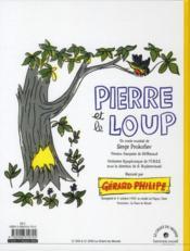 Pierre et le loup - 4ème de couverture - Format classique
