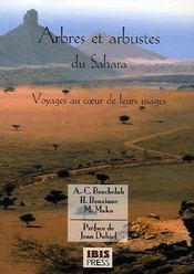 Arbres du sahara - voyage au coeur de leurs usages - Couverture - Format classique