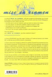 100% de réussite au score IAE message (3e édition) - 4ème de couverture - Format classique
