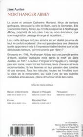 northanger abbey jane austen francais pdf