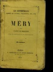 Mery - Couverture - Format classique