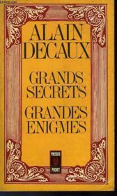 Grands Secrets Grandes Enigmes - Couverture - Format classique