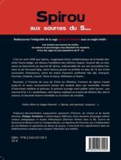 Spirou aux sources du s... ; une analyse de la mythologie et des références internes de la série Spirou et Fantasio - 4ème de couverture - Format classique