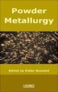 Powder metallurgy - Couverture - Format classique