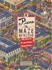 Pierre the maze detective - Couverture - Format classique