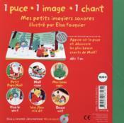 Mes chants de Noël - 4ème de couverture - Format classique