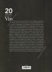 20 déjeuners autour du vin - 4ème de couverture - Format classique