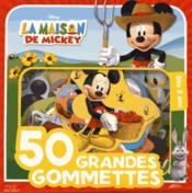 Mickey à la ferme ; 50 grandes gommettes disney - Couverture - Format classique