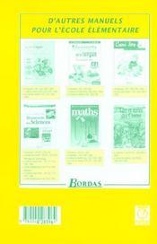 L'ATELIER DE FRANCAIS ; CE1 ; livre du maître - Intérieur - Format classique