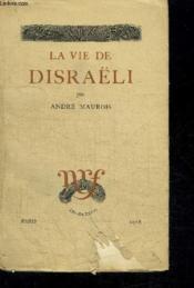 La Vie De Disraeli - Couverture - Format classique