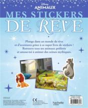 Mes stickers de rêve ; Disney animaux - 4ème de couverture - Format classique