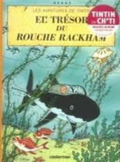 Les aventures de Tintin ; les avintures de Tintin t.12 ; el' tresor du rouche rackham - Couverture - Format classique