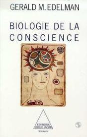 Biologie de la conscience - Couverture - Format classique