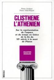 Clistène l'athénien - Couverture - Format classique