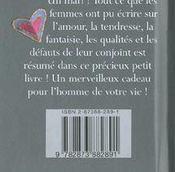 Petit Livre Pour Mon Mari - 4ème de couverture - Format classique