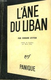 L'Ane Du Liban. Collection Panique N° 5 - Couverture - Format classique