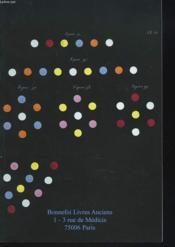 Livres Anciens Et Modernes. Catalogue N°104. - Couverture - Format classique