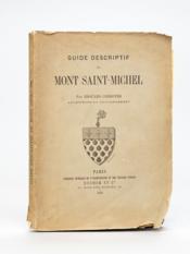 Guide descriptif du Mont Saint-Michel. - Couverture - Format classique