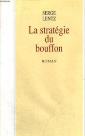 La Strategie Du Bouffon. - Couverture - Format classique
