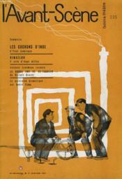 L'Avant-Scene - Femina-Theatre N° 235 - Les Cochons D'Inde D'Yves Jamiaque - Couverture - Format classique