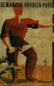 Almanach Ouvrier-Paysan 1947 - Couverture - Format classique