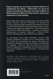 Une histoire trouble de la Ve République - 4ème de couverture - Format classique