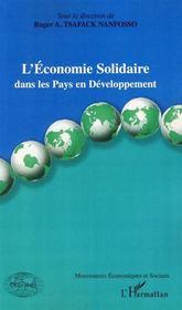 L'économie solidaire dans les pays en développement - Intérieur - Format classique
